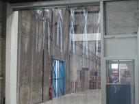 Прозрачные эластичные пвх завесы